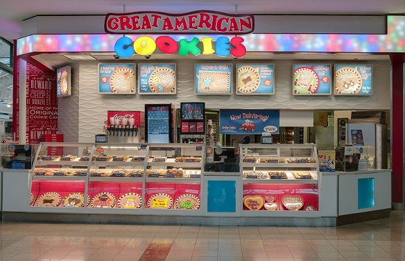 Cookie Cake Store In Mall